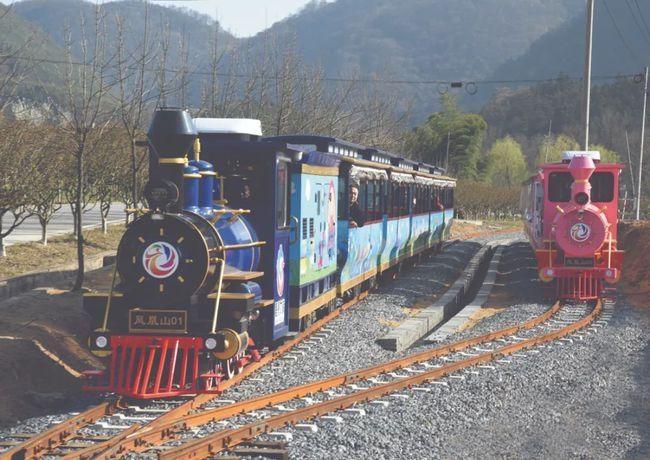 120座轨道小火车(粉色款)