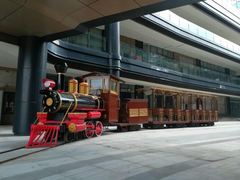 24座轨道小火车(红色款)