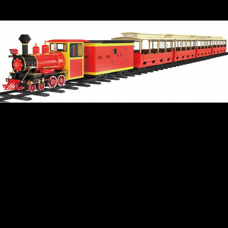 96座轨道小火车(魅力红)