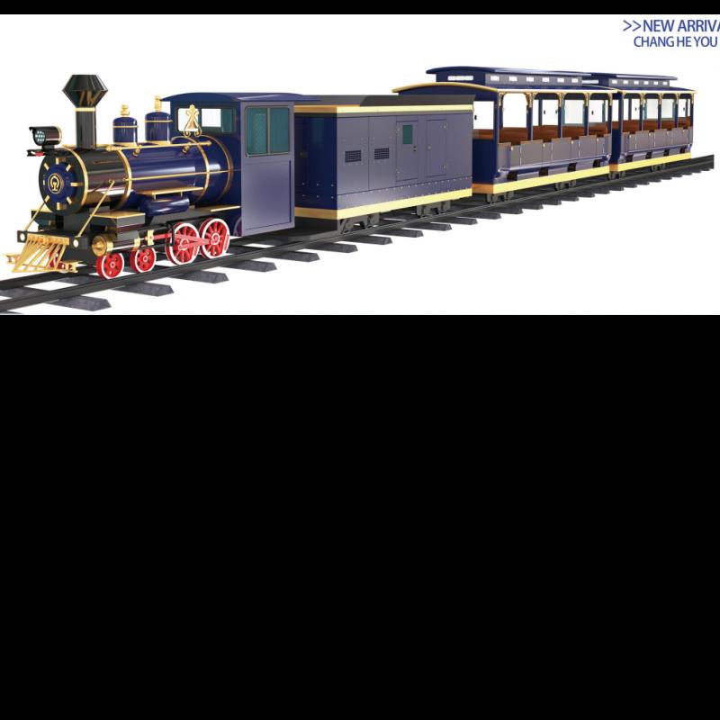 48座轨道小火车(深海蓝)
